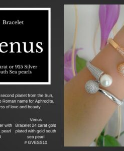 Venus south sea perle armbaand